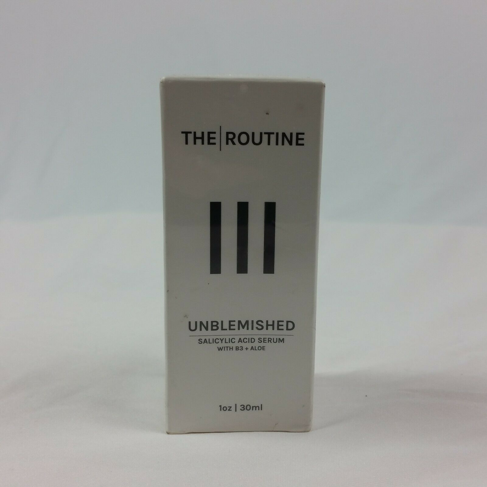 The Routine UnBlemished Skin Care 1oz Salicylic Acid Serum B3 Aloe 1