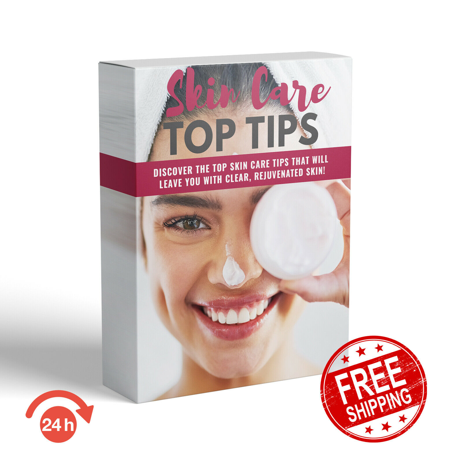 NATURAL SKIN CARE TIPS E BOOK WITH MASTER RESELL RIGHTS + FREE SHIPPING 1