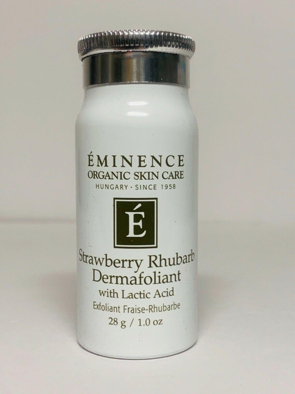Eminence Organic Skin Care Strawberry Rhubarb Dermafoliant 28g/1 oz Travel Size 1