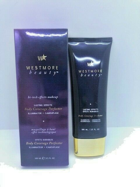 Westmore Beauty Lasting Effects Body Coverage Perfector Select Shade 3.5 oz!! 1