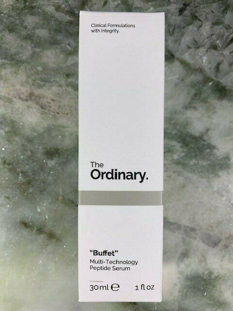 """The Ordinary """"Buffet"""" Multi-Technology Peptide Serum Full Size 1 oz / 30 ml NEW 1"""