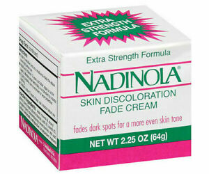 Nadinola Skin Discoloration Fade Cream Extra Strength 2.25 oz NIB 1