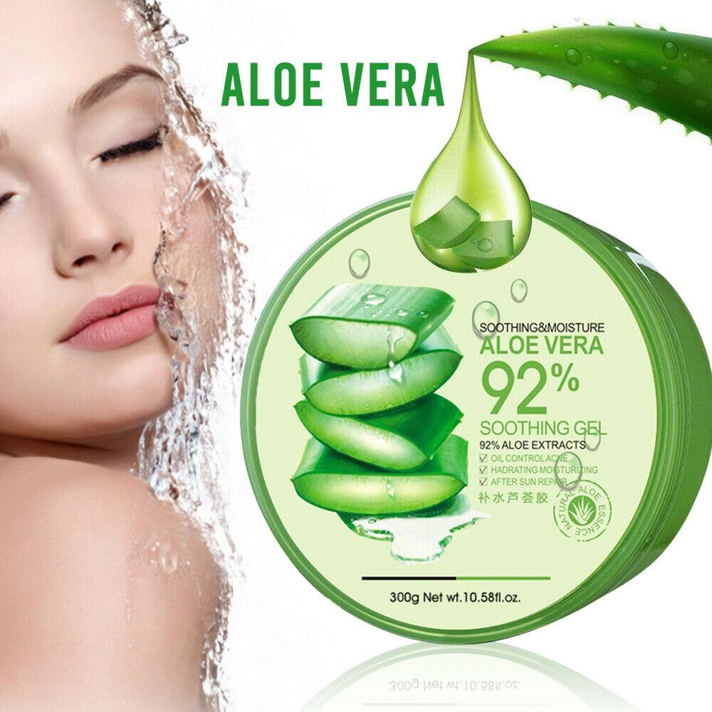 Natural Aloe Vera Smooth Gel Acne Treatment Face Cream Hydrating Moist Skin Care 1