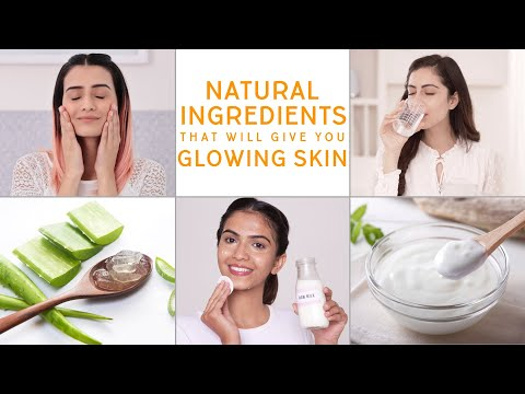 The Most Common Natural Ingredients For Glowing Skin | Glamrs Skin Care Secrets 1