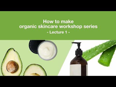 How to formulate organic skincare 1