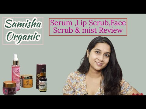 Vitamin C Serum Review || Best Organic skin care products || Samisha Organic Product Review || 1